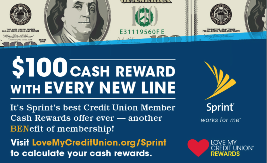 $100 Cash Reward with Every New Line from Sprint!