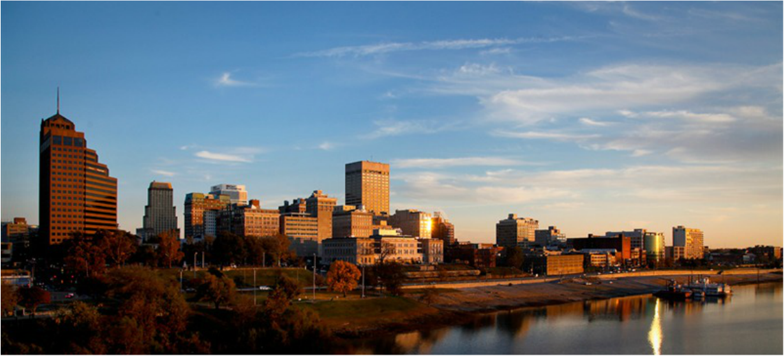 Photo of Downtown Memphis Skyline