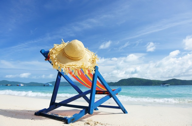 Relax on the beach with Hassle Free Loans